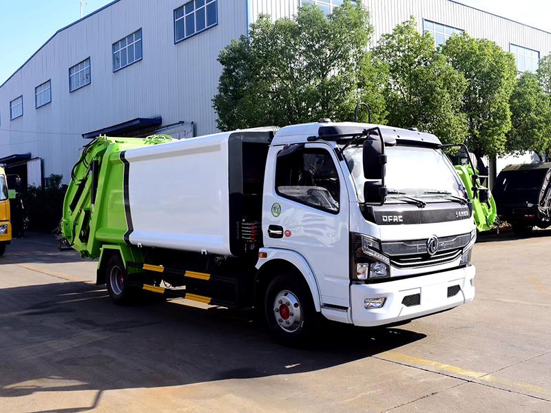 东风凯普特8方压缩垃圾清运保洁车专业定制图片